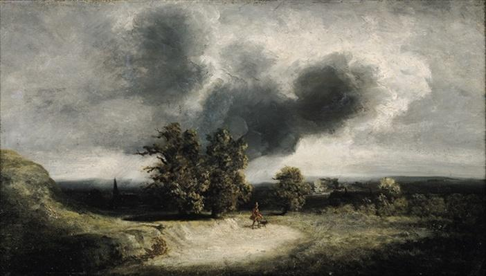 Landscape on the Outskirts of Paris