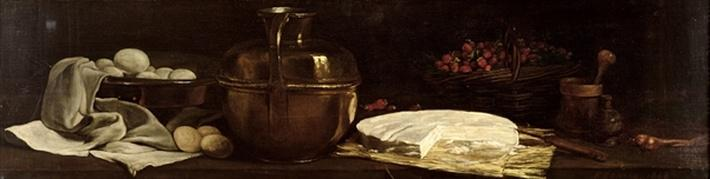 Still Life with Brie, 1863