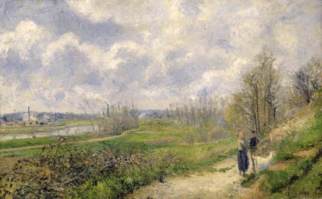 La Sente du Chou, near Pontoise, 1878