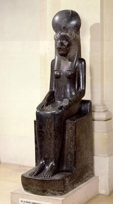 Statue of the lion-headed goddess Sekhmet, from the Temple of Mut, Karnak, New Kingdom, c.1391-1353 BC