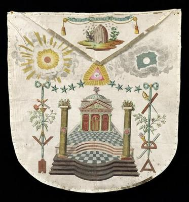 Apron of a Master of the Saint-Julien Lodge in Brioude
