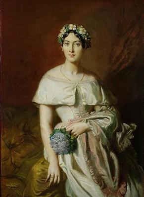 Mademoiselle Marie-Therese de Cabarrus, 1848