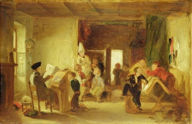 A Study for 'The Schoolroom'