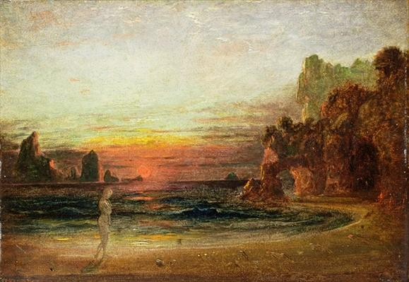 Study for 'Calypso's Grotto', c.1843