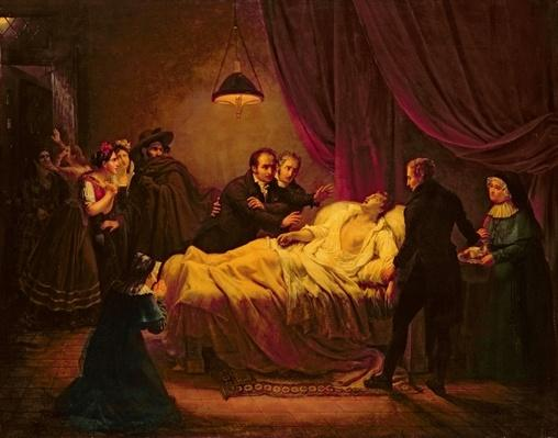 The Death of Mazet, 1821