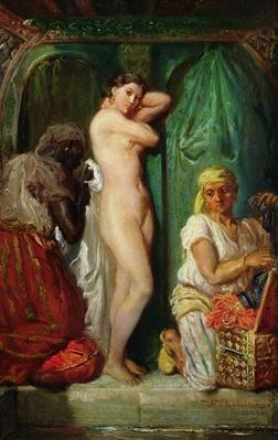 The Bath in the Harem, 1849