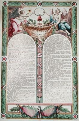 Declaration of the Rights of Man, 1793