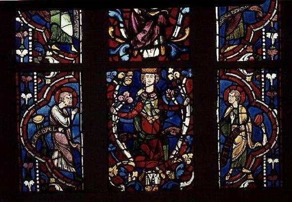 Window depicting the Tree of Jesse, c.1210-45