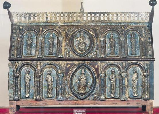 Reliquary chest of St. Viance, Limousin School, c.1230-50