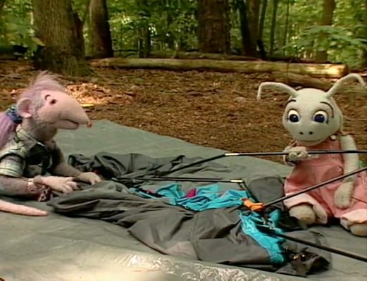 Blossom and Snappy Go Camping | Count On It!