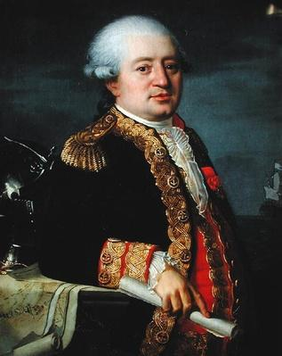 Portrait of the Comte de La Couldre de La Bretonniere