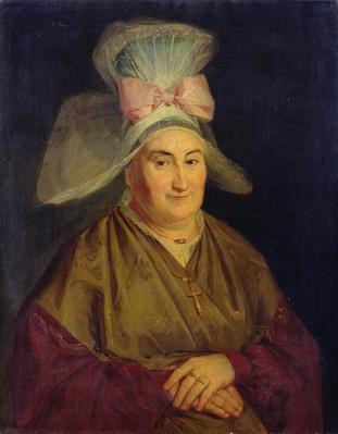 Portrait of a Woman with a Normandy Bonnet