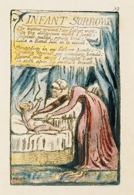 "william blake infant joy infant sorrow William blake's ""infant joy"" and ""infant sorrow"" are two of the most famous poems in english literature each of these poems is a counterpart for the other the first is taken from blake's songs of innocence while the."