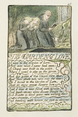 'The Garden of Love', plate 45