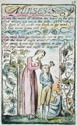 'Nurse's Song', plate 49
