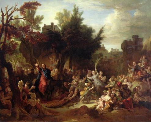 The Entry of Christ into Jerusalem, c.1720