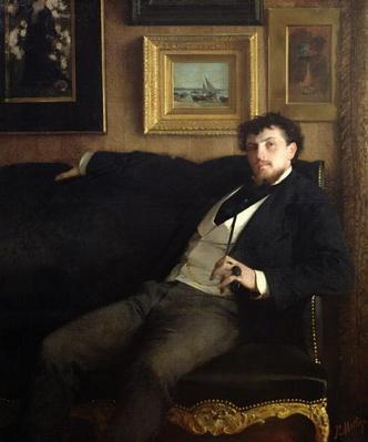 Portrait of Ernest Duez