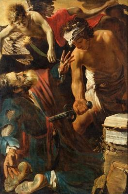 The Martyrdom of St. Matthew, 1617