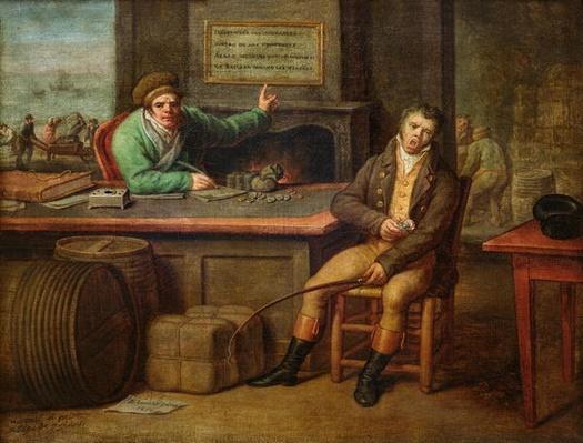 Idleness, 1818