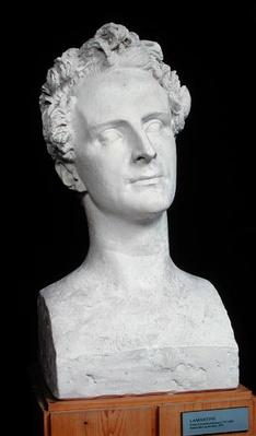 Bust of Alphonse de Lamartine