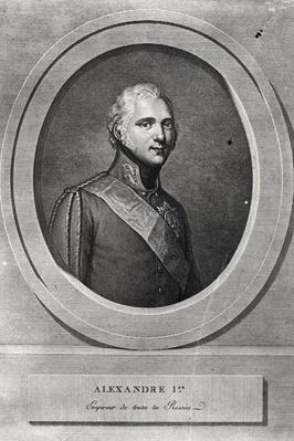 Portrait of Alexander I