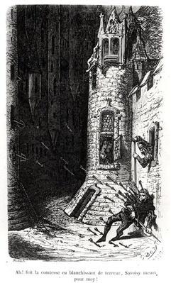 Illustration from 'Les Contes Drolatiques', by Honore de Balzac