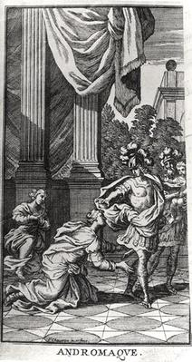 Andromache at the Feet of Pyrrhus, from 'Andromache' by Jean Racine