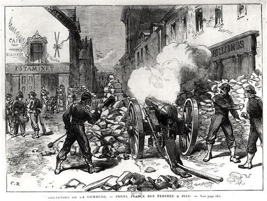 The Paris Commune: A Barricade at Issy, May 2nd 1871