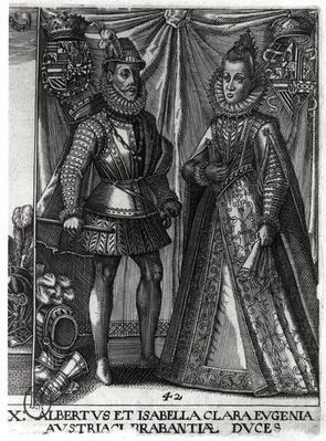 Portrait of Albert, Archduke of Austria