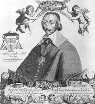 Portrait of Cardinal de Richelieu