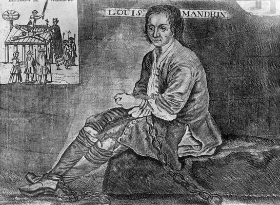 The Torture on the Wheel and Execution of Louis Mandrin