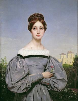 Portrait of Louise Vernet