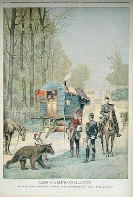 Census of Travellers in France, from 'Le Petit Journal', 5th May 1895