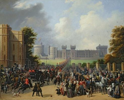 The Arrival of Louis-Philippe