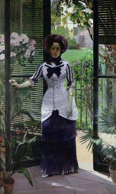 In the Greenhouse, 1881