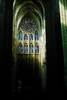 North transept,