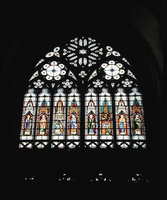 South transept window