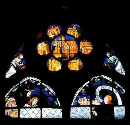 Rose window, c.1560