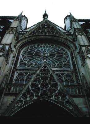 North rose window, c.1280