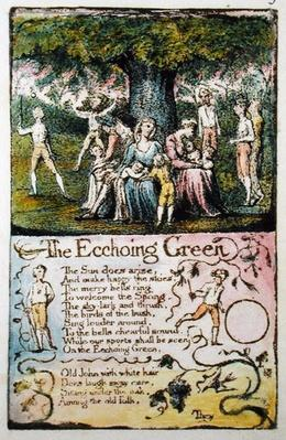 'The Echoing Green', plate 5