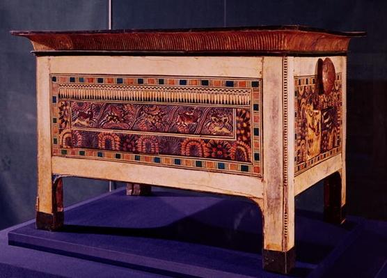 Coffer from the Tomb of Tutankhamun, New Kingdom