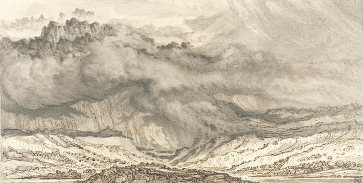 Snowdon, An Approaching Storm, 1853