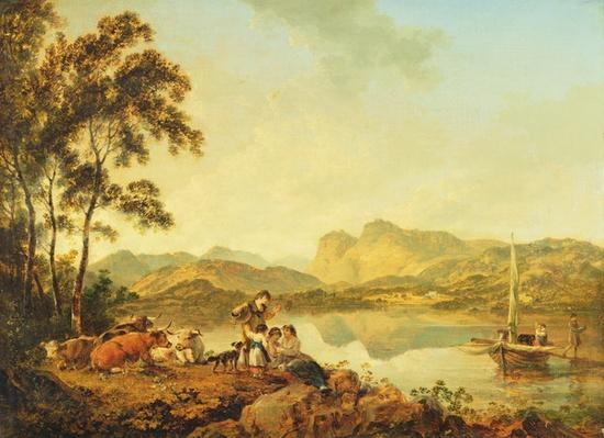 Langdale Pikes from Lowood, c.1800-06