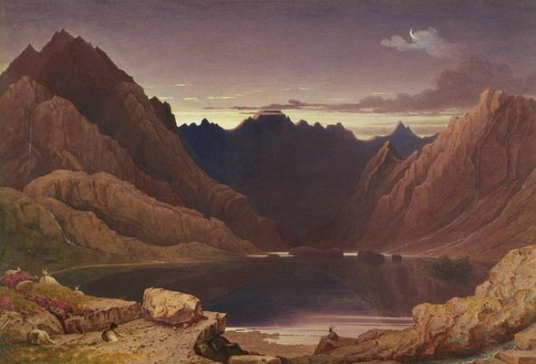 Loch Coruisk, Isle of Skye - Dawn, c.1826-32