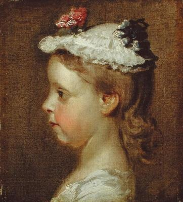 Study of a Girl's Head, c.1740-50