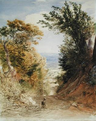 View from Rook's Hill, Kent, 1843