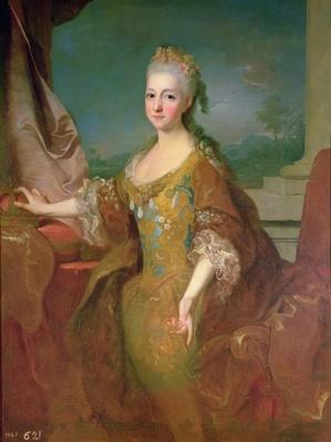 Portrait of Louise-Elisabeth d'Orleans