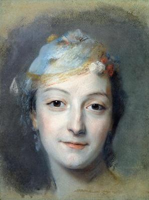 Portrait of Marie Fel