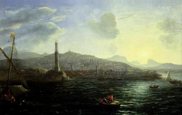 The Port of Genoa, Sea View