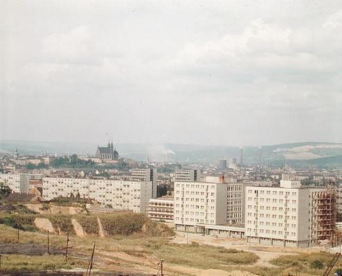 General view of the city